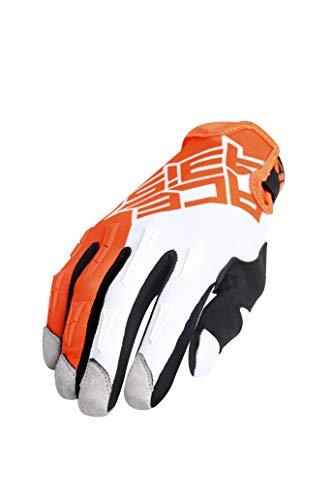 Handschuhe MX X-H Orange/Weiß L