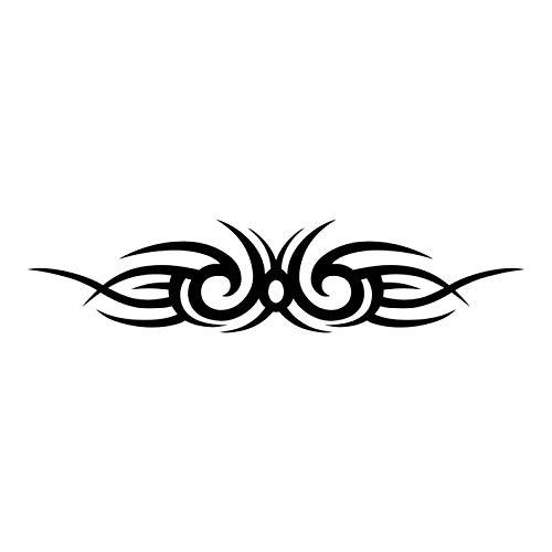 kleb-Drauf | Tribal | Verschiedene Größen und Farben | Autoaufkleber Autosticker Decal Aufkleber Sticker | Auto Car Motorrad Fahrrad Roller Bike | Deko Tuning Stickerbomb Styling Wrapping