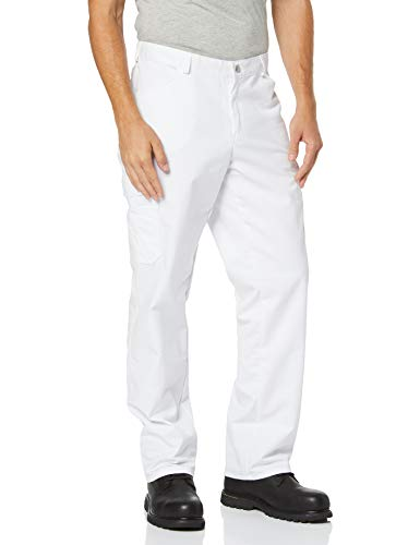 BP 1641-558-21-Mn Unisex-Jeans, Jeans-Stil mit mehreren Taschen, 245,00 g/m² Stoffmischung, weiß ,Mn