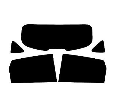 Pssc Pré Découpé Arrière Vitre Teintée Voiture Film Compatible avec Nissan Qashqai 2007-2013 - 20% Foncé