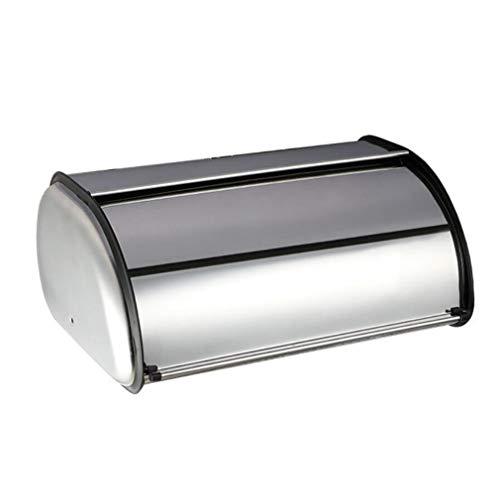 Guoshang Stainless Steel Bread Box, Kitchen Counter Bread Storage Bin Container