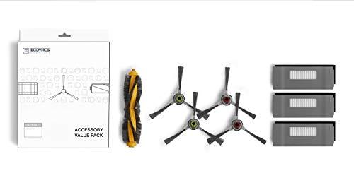 ECOVACS DEEBOT 900 Smart Robotic Vacuum, Carpet, Bare Floors, Pet Hair + Mapping Technology, High...