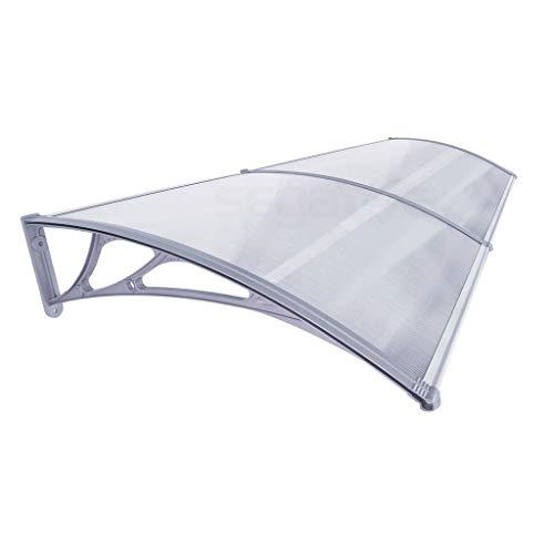 DGSFES Handmatige luifel luifel kleine luifel buitenterras tuin paviljoen PP plastic beugel zonnepaneel (2 * 0,9M) stijlnaam 2.7 * 0.9M Kleur