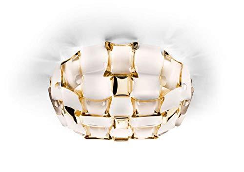 Slamp Mida Wand-/Deckenleuchte, gold, ø50 cm