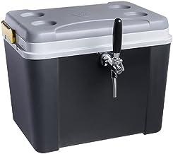 Chopeira a Gelo Lavita caixa 34l - preta com serpentina em alumínio 1 via sem torneira
