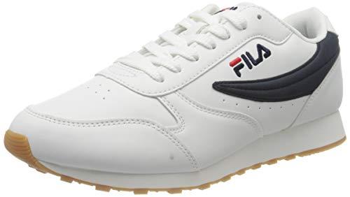 FILA Orbit men zapatilla Hombre, blanco (White/Dress Blue), 42 EU