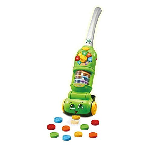 LeapFrog Pick Up and Count Vacuum, Role Play Toy with Lights and Sounds, Educational Toy with Learning Games, Preschool Toys with Numbers and Counting, Interactive Toy for Girls and Boys 2 Years +