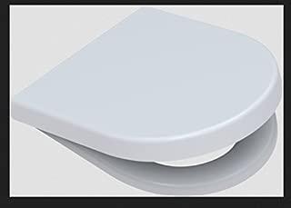 Asiento de inodoro para Duravit Starck 3//Starck 2 bisagras de metal con descenso hidr/áulico color blanco Gr/ünblatt 515153 material de alta calidad Duroplast