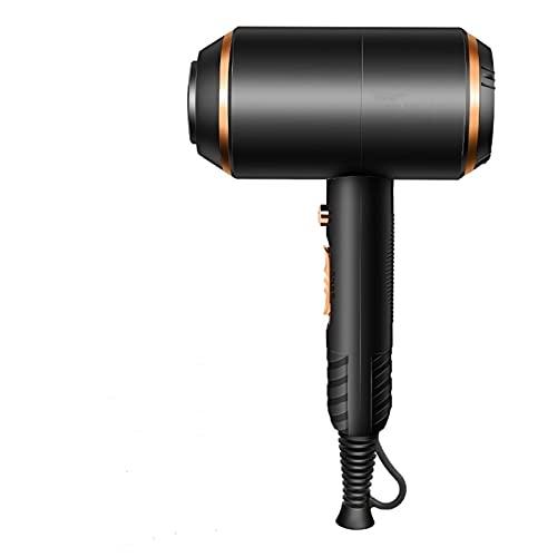 SHIXIMAO Secador de Pelo Profesional Strong Power Secadores de soplado iónico Equipo de peluquería eléctrica Herramientas de Modelado de Styler de Pelo (Color : Black, Size : 321)