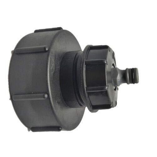 Conector del depósito de agua, salida del depósito, tubo flexible de 1000 litros, grifo IBC, tapón Hoze de agua, tubo de 4 a 1/2 pulgadas.