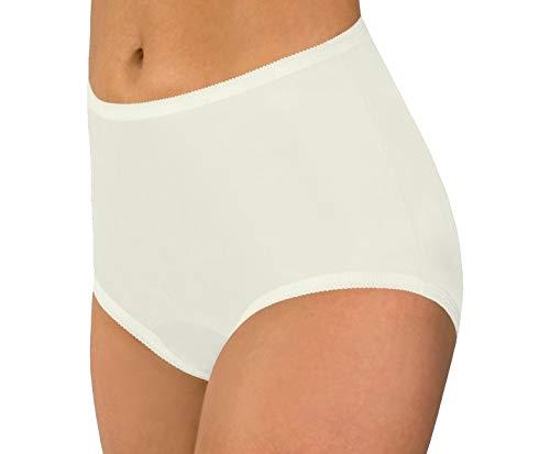 Women's Ivory Classic Nylon Panties Size...