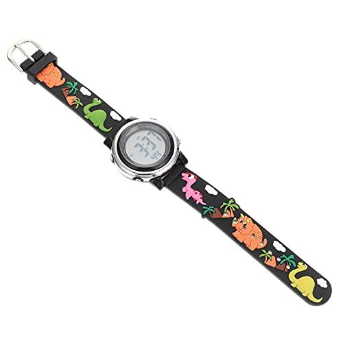 Abaodam Reloj Deportivo Digital Cronómetro de Dinosaurio Relojes de Pulsera Impermeables Reloj de Pulsera para Estudiantes Reloj de Pulsera Eléctrico para Niños