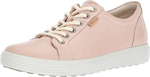 Ecco Damen Soft 7 Sneaker, Pink (Rose Dust), 38 EU