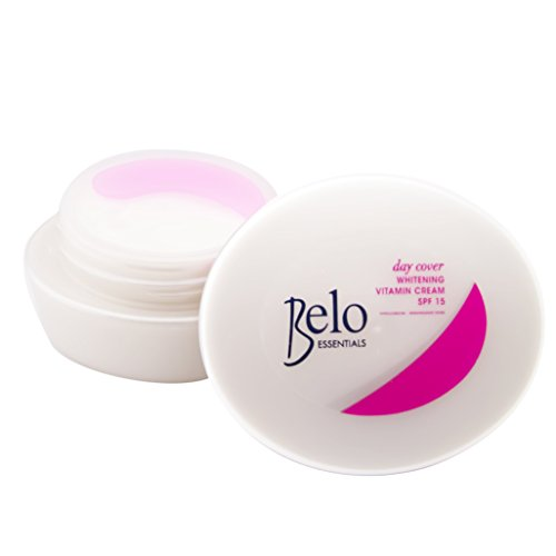 Belo Essentials Day Cover Whitening Vitamin Cream Spf15 - 50g Protects Against UVA and UVB Rays. by Belo Essentials
