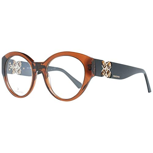 Swarovski SK5227 50048 Brillengestelle SK5227 048 Rechteckig Brillengestelle 50, Braun