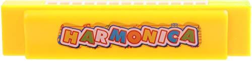 LG-Imports Armónica (13 tonos, 13 cm), color amarillo
