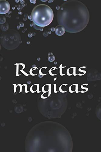 Recetas magicas: Receta - Símbolo - Signo - Libro de hechizos - Hechizo - Hechicería - Bruja - Brujería - Hechizo - Magia - Mago - Diseño propio