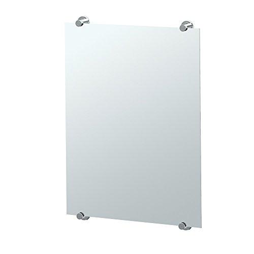 Gatco 1561 Latitude II Fixed Mounted Minimalist Mirror Chrome, 30 H x 22 W