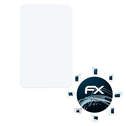 atFolix Schutzfolie kompatibel mit Cyrus CT 1 Folie, ultraklare FX Bildschirmschutzfolie (2X)