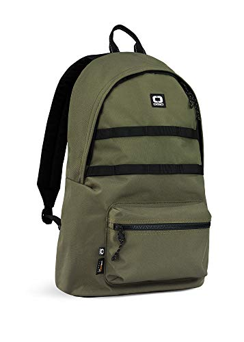 OGIO Alpha Convoy 120 EcoMade-Cordura 15 Inch Durable Laptop Backpack (20 Litre Capacity), Olive, 48 cm