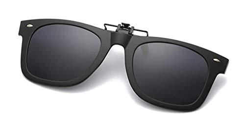 NAVARCH Gafas de Sol Clip on Gafas de sol polarizadas con Gafas Clip polarizadas UV400 para hombre y mujer, ajuste cómodo y seguro sobre gafas de sol para conducción y al aire libre