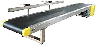 110V Small Commodities Electric Desktop Conveyor Belt Machine One Fence Packaging Supply 230019