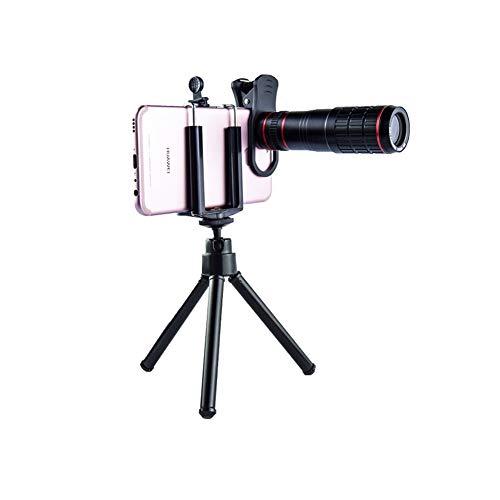 KGDC Monoculares Lente de teléfono móvil 20X teleobjetivo telescopio HD de Alta magnificación Concierto Universal Pesca fotografía en Vivo cámara HD