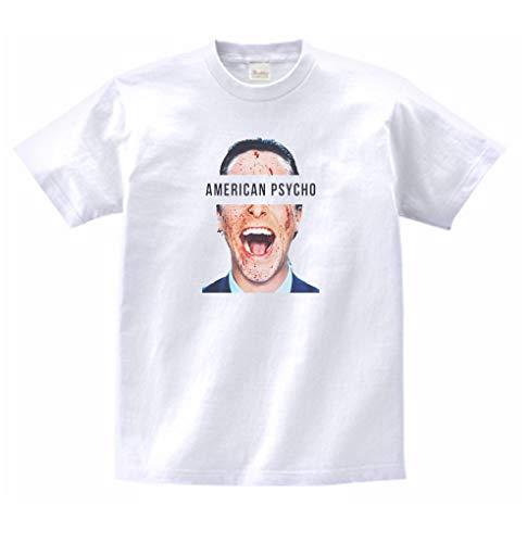 音楽 バンド シネマ アメリカンサイコ 397 Tシャツ 半袖 (XL)