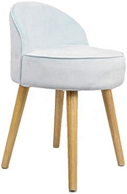 CCSHJ Modern Minimalist Makeup Chair Wood Back Nail Max 85% OFF Don't miss the campaign Solid