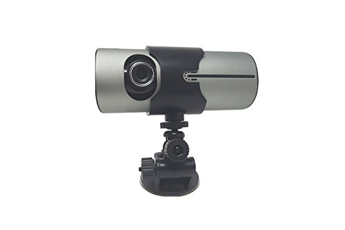 BW de 2.7 Pulgadas de TFT de Doble cámara de Coche DVR GPS Logger G-Sensor de Vehículo Sincrónico Recorder-Nueva Versión