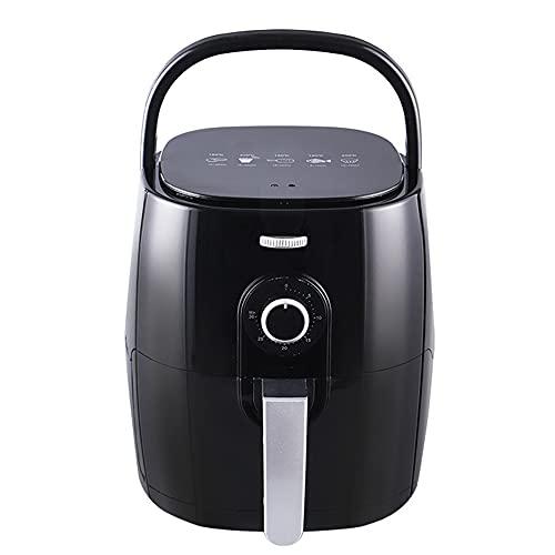 Freidora de aire, horno de encimera de tamaño familiar, freidora de aire con pantalla táctil sin aceite, cesta desmontable antiadherente de 1350 vatios de 5 cuartos, apta para lavavajillas