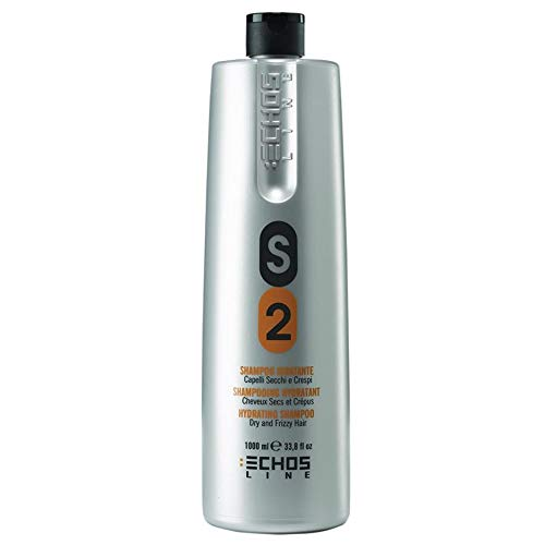 Echosline S 2 Dry Hair Shampoo 1000 ml