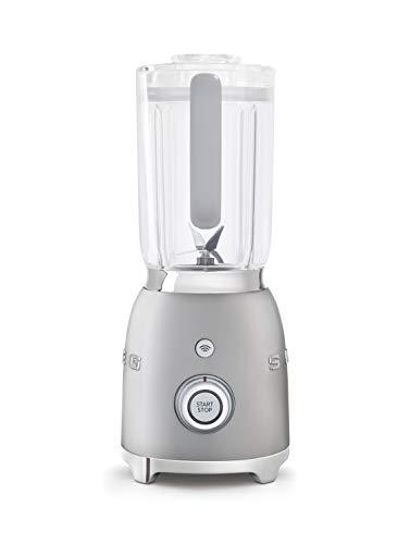 SMEG blender BLF01SVEU, 1,5 liter, glas, zilver