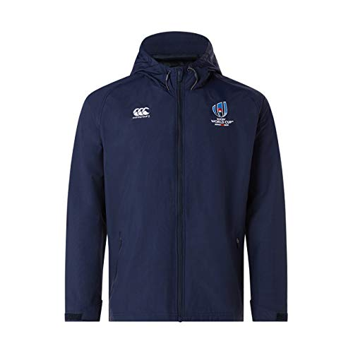 Canterbury Official Rugby World Cup 19 Men's Rain Jacket, X-Large, Navyblazer