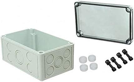 BOX PLASTIC GRAY Sale 7.09