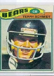1977 Topps Football Card #339 Terry Schmidt