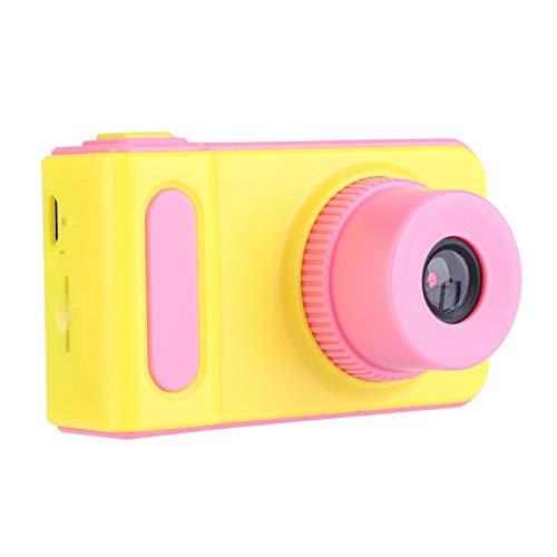 VINGVO Barnkamera, kompakt och lätt HD-bild 1080P upplösning digitalkamera, konstnär resenär för fotografer (rosa)