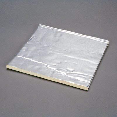 "3M 4014 Viscoelastic polymer Damping Aluminum Foam Sheet, 250 mil Thick, 48"" Length x 18"" Width, Silver"