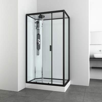 Azura Home Design - Cabina de ducha Kineaai III sin techo (80...