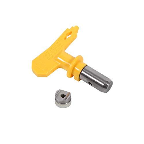 Düse für Farbspritzgerät, Universal Lackierpistole Spritzpistole, Spritzdüsenzubehör aus Wolframstahl für den Heimgebrauch Werkzeug Set(409)