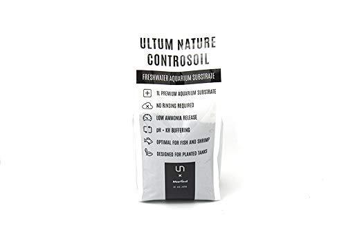 Ultum Nature Controsoil Freshwater Planted Aquarium Substrate - Fine Black (3 Liter)
