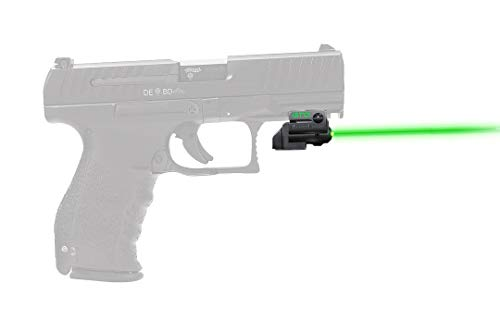 ArmaLaser Designed to fit Walther PPQ M2 PPX GTO Green Laser Sight and FLX42 Grip Switch
