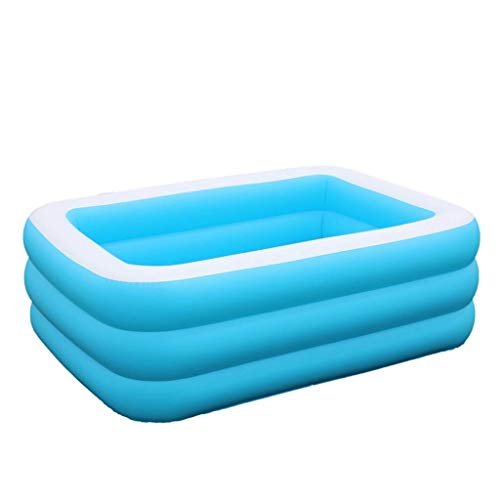 Swimming Family Fun Lounge, Kids Inflatable Pool Garden Swimming Pool Safe And Durable Pool Baby Bath Bathtub Summer Toy Pool Family Water Park (Size : 130 * 90 * 50cm) KAIRUI ( Size : 130*90*50cm )