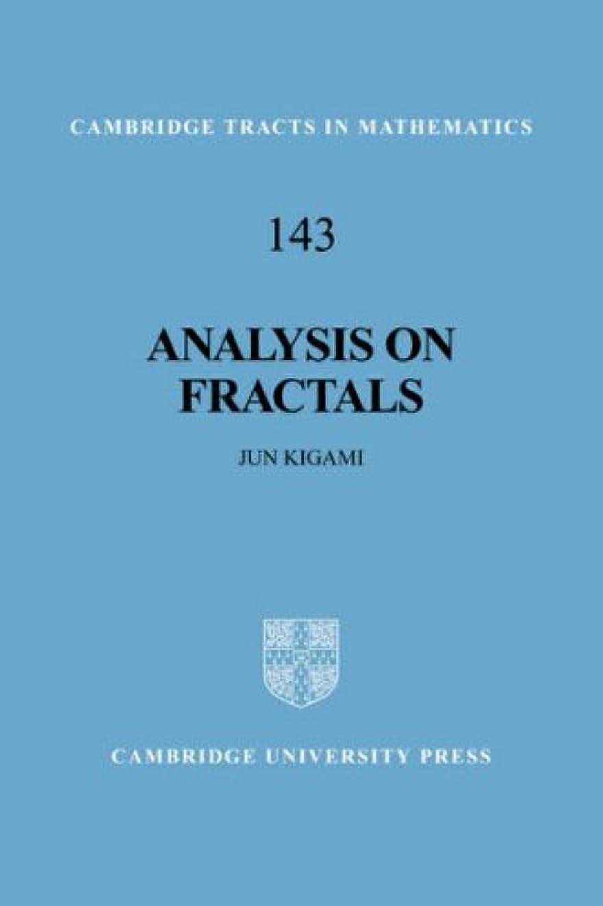 野ウサギスクワイアアブストラクトAnalysis on Fractals (Cambridge Tracts in Mathematics)