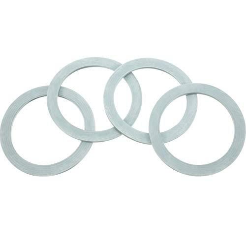 4 Packungen Mixer Dichtungsring Dichtungen O-Ring Dichtung O-Dichtung Gummi Kompatibel mit Oster und Osterizer Mixer