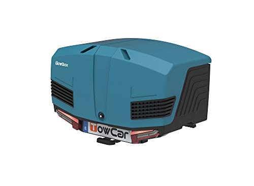 Towbox V3 Gepäckbox für Anhängerkupplung | Marine Blau | Transportbox | Gepäckträger
