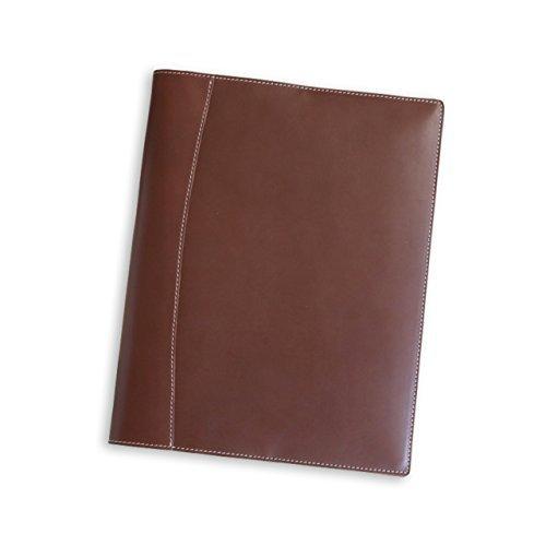 (ブラン・クチュール)BlancCouture 本革クリップボード「A4サイズ」 (チョコレート)