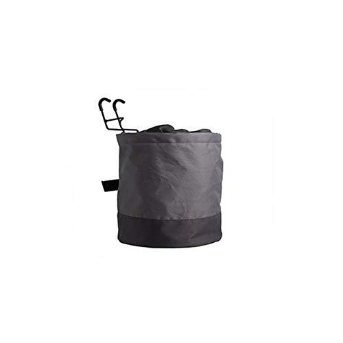 Llw Faltbarer Fahrradkorb, wasserdicht, leicht, verschleißfest, hochwertige Oxford-Materialien, stilvoll, praktisch, tragbar, Abnehmbarer Leinwandkorb