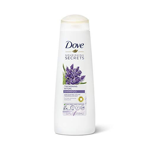 Dove Nourishing Secrets Volume Shampoo for Thinning Hair Thickening Ritual Hair Shampoo with Lavender 12 oz