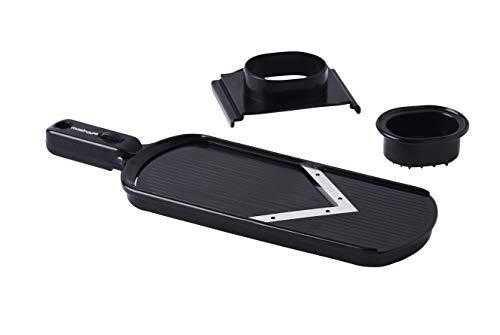 MASTRAD F22000 Mandoline à main-lame V ajustable, Noir